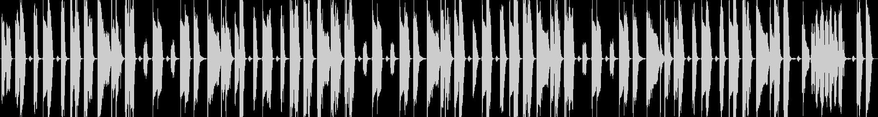 【ループ対応】コミカル&日常的な楽曲の未再生の波形