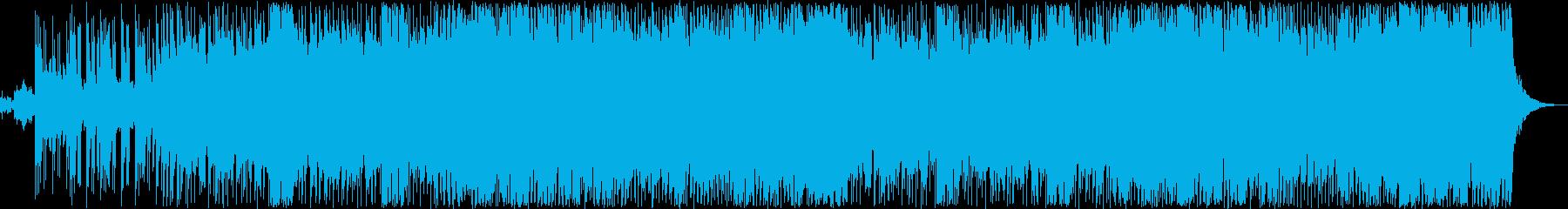 希望を感じるミステリーBGMの再生済みの波形