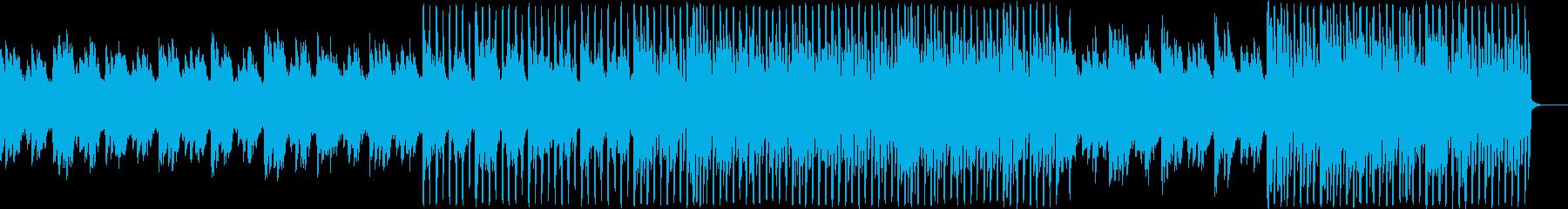 クリーンで誠実なイメージのアンビエントの再生済みの波形