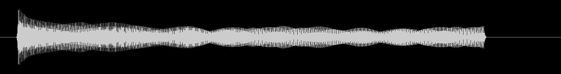 【びょーーん】シンセ2音遠くへ飛ぶ音の未再生の波形