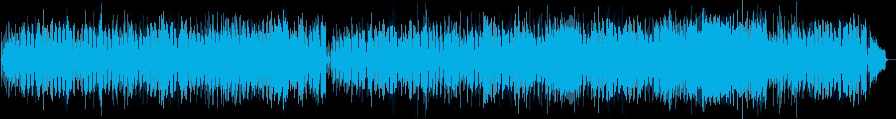 昭和のムード歌謡風・バラード・哀しげな曲の再生済みの波形