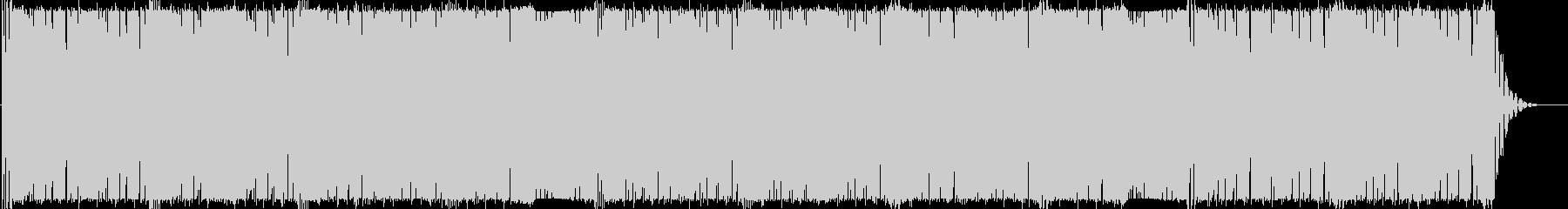 キラキラKawaiiFutureBassの未再生の波形