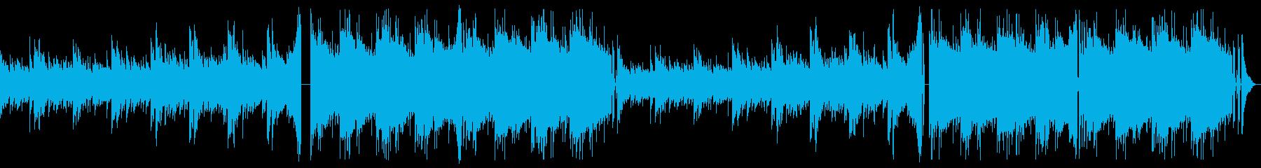 ホラー感のあるトラップの再生済みの波形