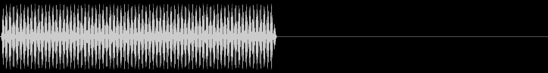 『ピッ』電話のプッシュ音(9)-単音の未再生の波形