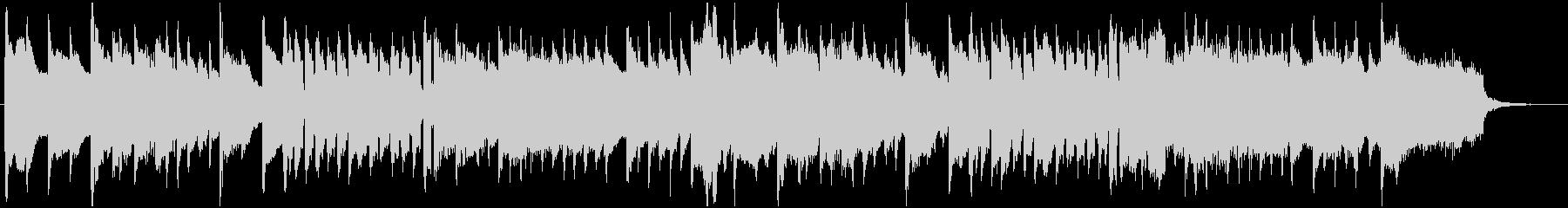ハープシコードとストリングスの未再生の波形