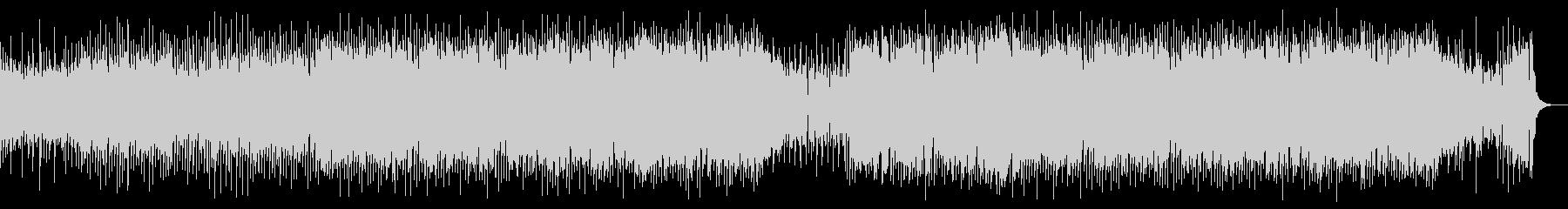 ロック調の牧歌的なカントリー曲の未再生の波形