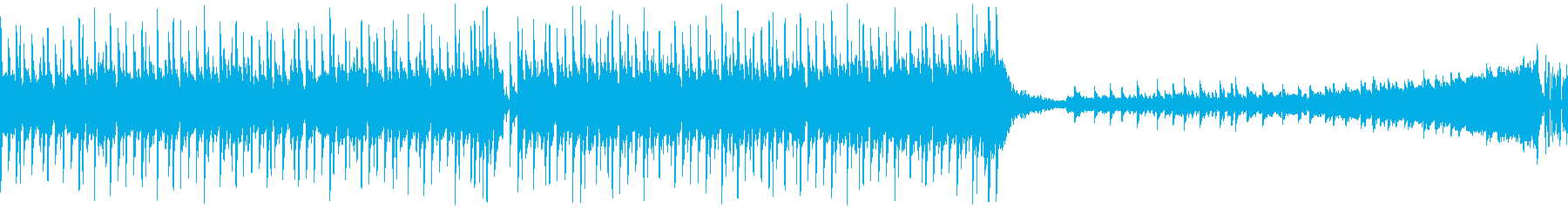 【メロなし/ループ】クール洋楽ハウスの再生済みの波形