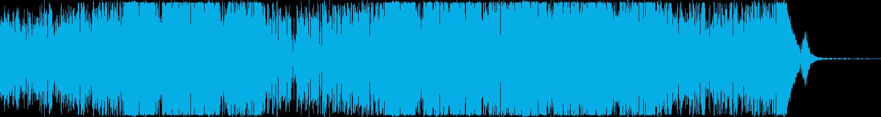 Youtube・映像・楽しい・ファンクの再生済みの波形
