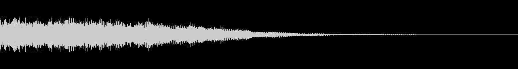 カジノシステムUI  クレジット投入音の未再生の波形