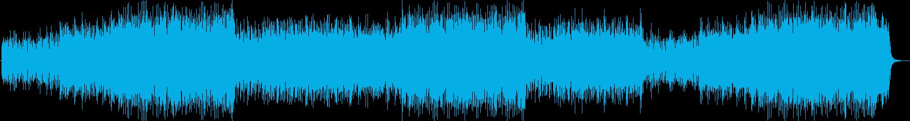 疾走感とミステリアスなシンセサウンドの再生済みの波形