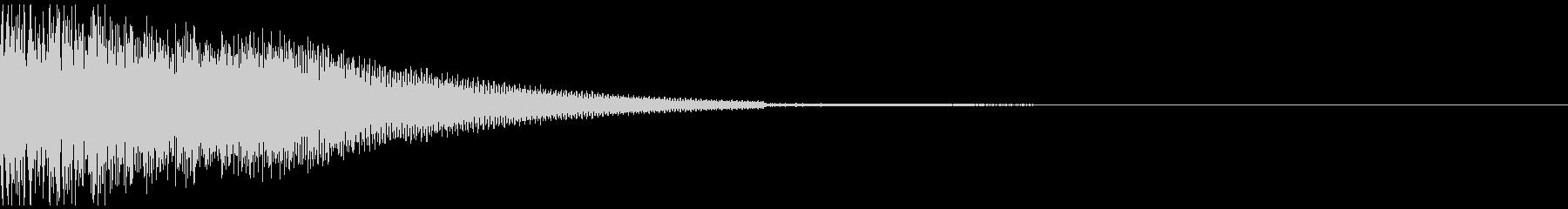 アイキャッチ かっこいい音の未再生の波形