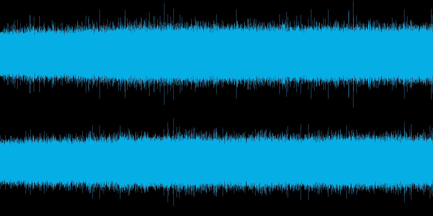 河原(環境音)の再生済みの波形