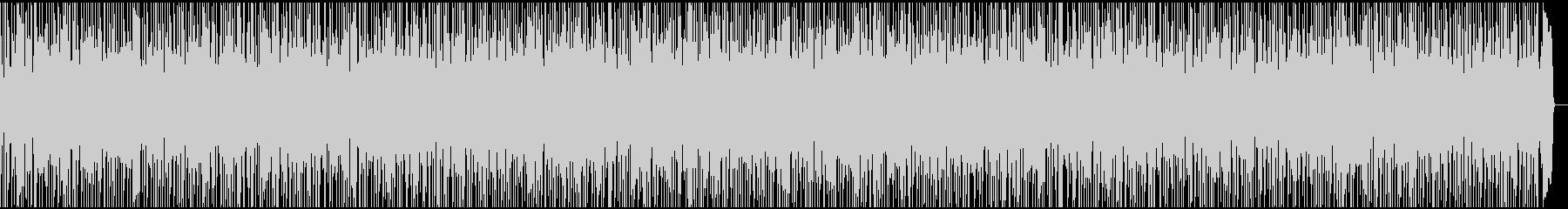 爽やかでキラキラ感のあるバラードBGMの未再生の波形