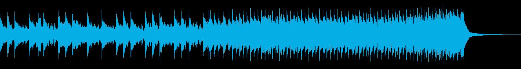時制ニュースベッドの再生済みの波形