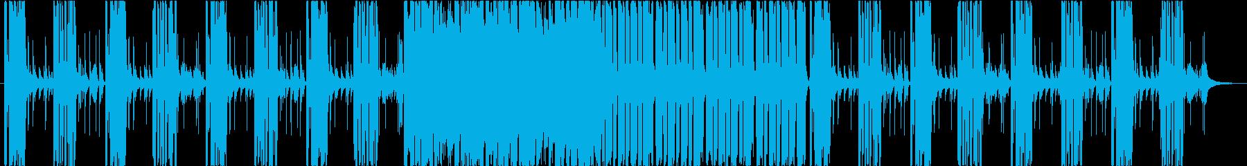 クールでファンキーな曲ですの再生済みの波形