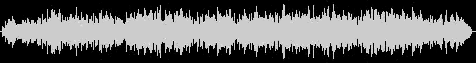 ミドルテンポの感動的な洋楽の未再生の波形