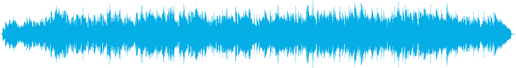 ミドルテンポの感動的な洋楽の再生済みの波形