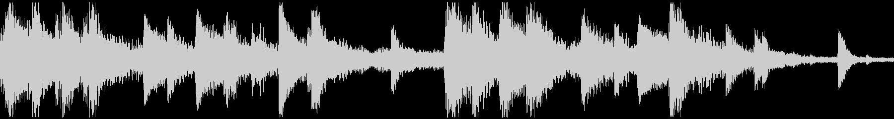 <ショートループ> ピアノ⑨+ビートCの未再生の波形