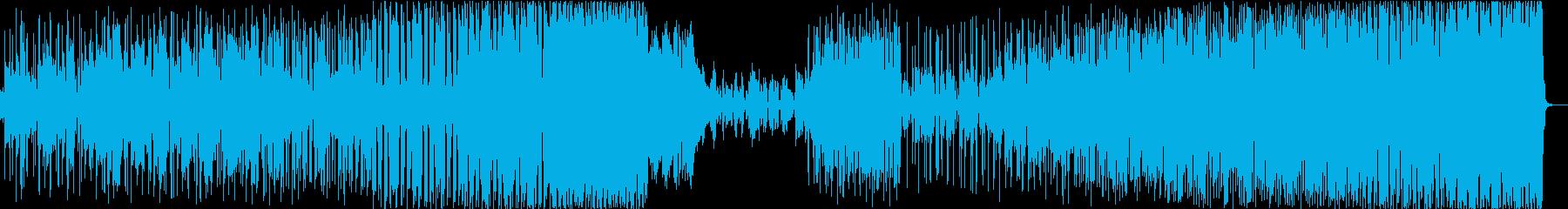 YYの再生済みの波形