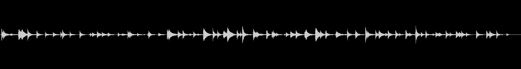 和風サウンド-水琴窟の未再生の波形