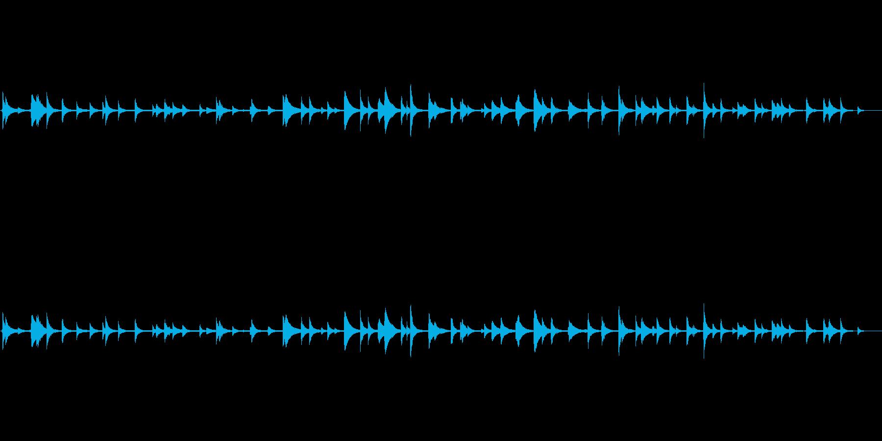 和風サウンド-水琴窟の再生済みの波形