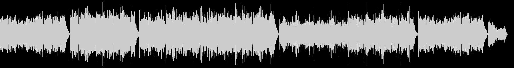 優しく落ち着くピアノポップ:フルx1の未再生の波形
