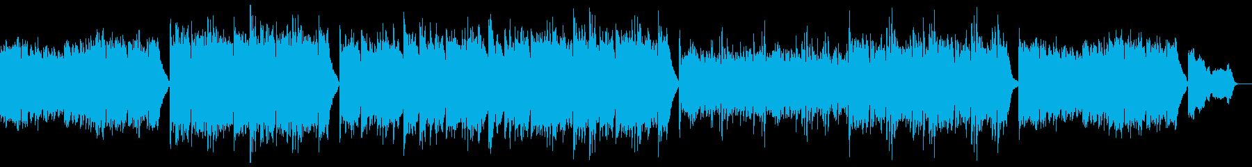 優しく落ち着くピアノポップ:フルx1の再生済みの波形