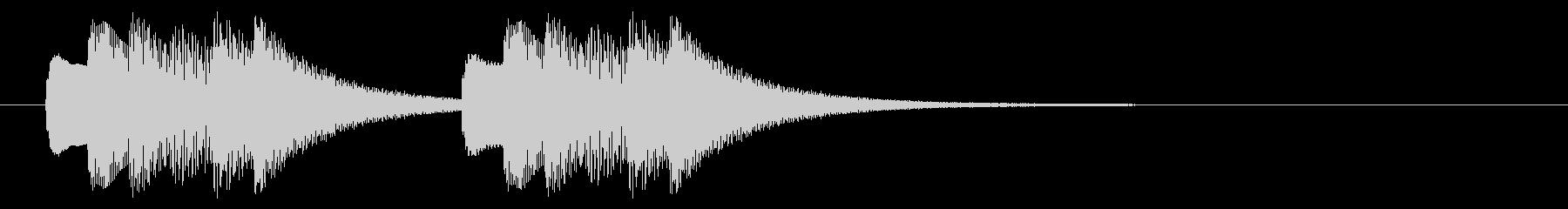 緊急アラート01-2の未再生の波形