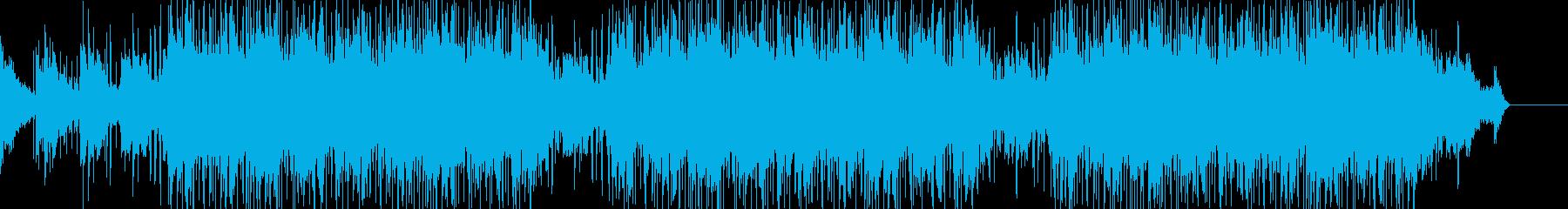 ジャズ風のビブラフォン、孤独なトラ...の再生済みの波形