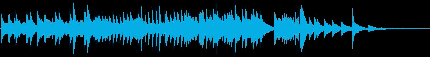 もろびとこぞりてのクリスマスピアノBGMの再生済みの波形