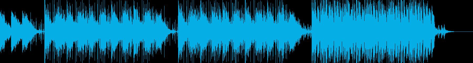 シンセと笛スタイリッシュなトリップホップの再生済みの波形