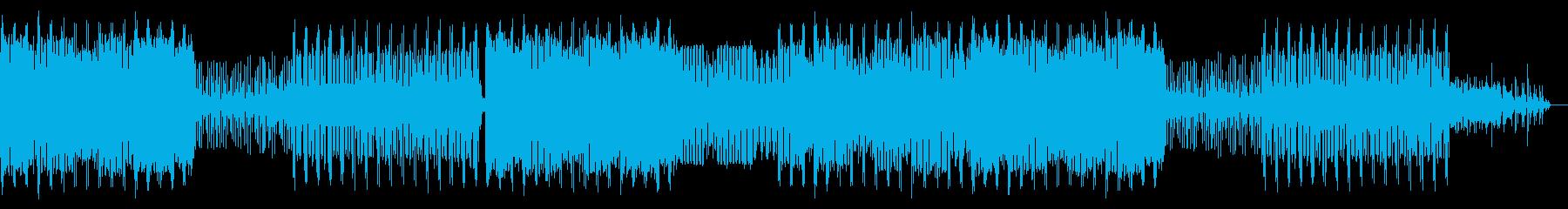 電子楽器。気紛れ、速いペース、多忙...の再生済みの波形