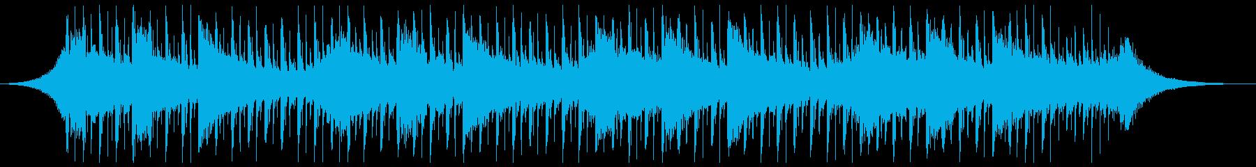 説明(40秒)の再生済みの波形