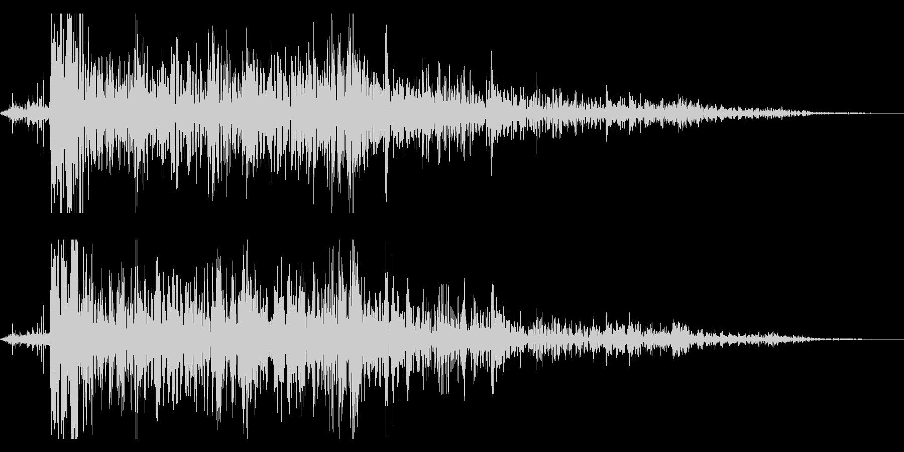 本当にリアルな連続花火の効果音!7の未再生の波形