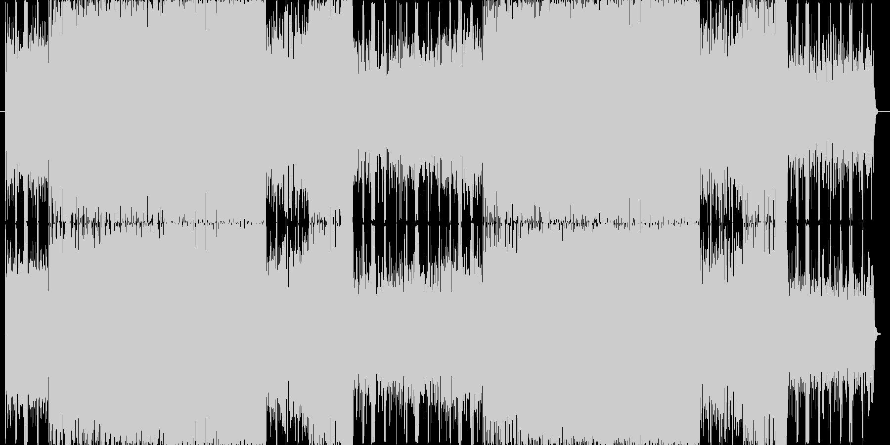 【楽しいゲーム風BGM】リフレインの未再生の波形