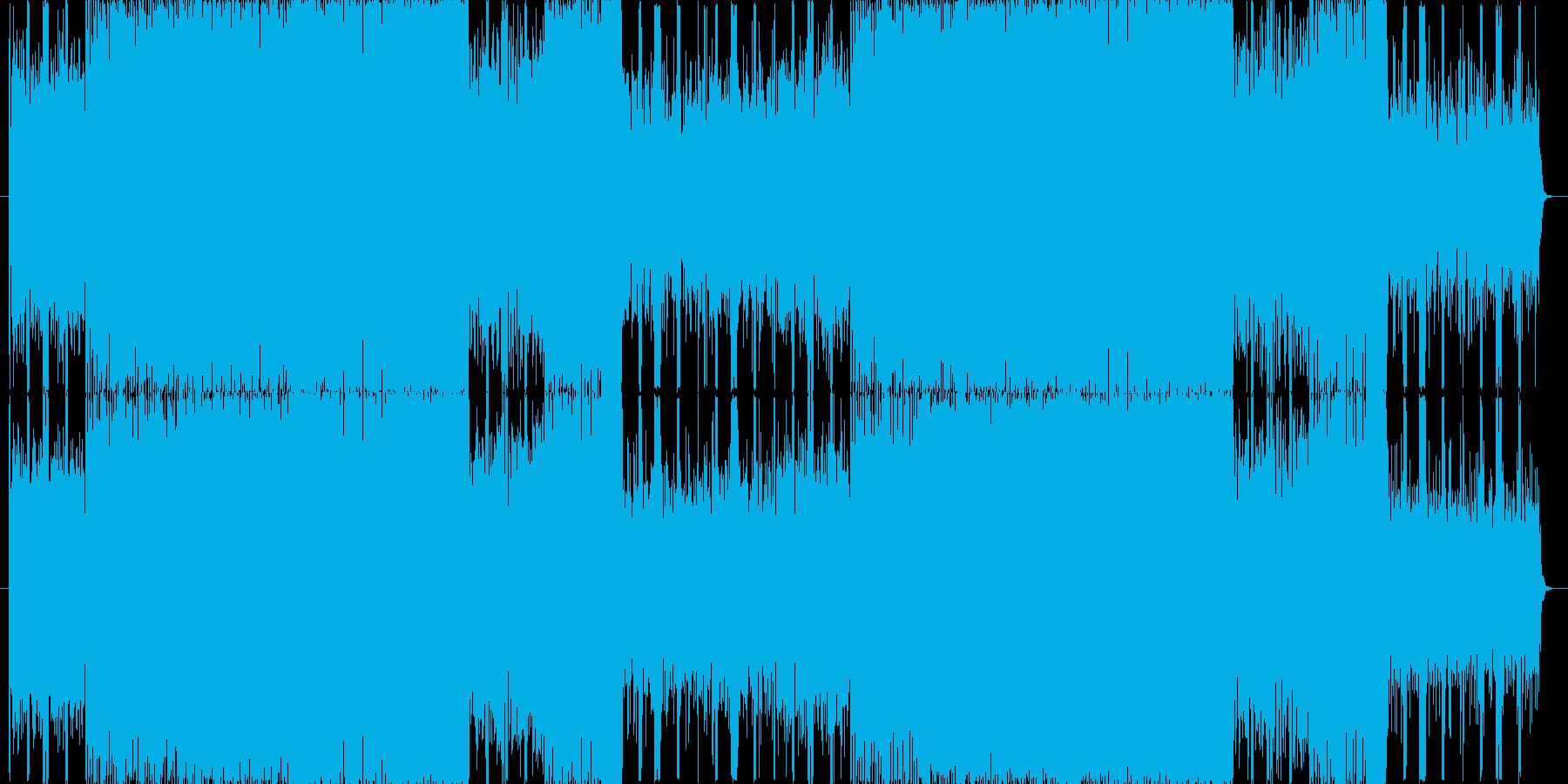 【楽しいゲーム風BGM】リフレインの再生済みの波形