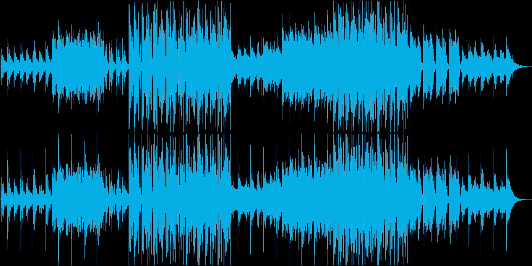 明るく、アンビエント/ポップ/ニュ...の再生済みの波形