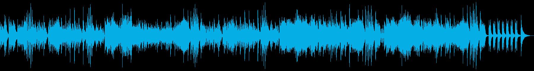 明るく軽い空間的な セミ・クラシックの再生済みの波形