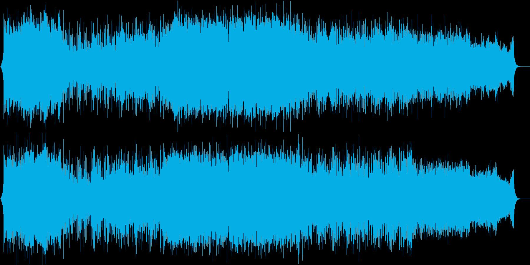 イベント 映像 オープニング曲の再生済みの波形