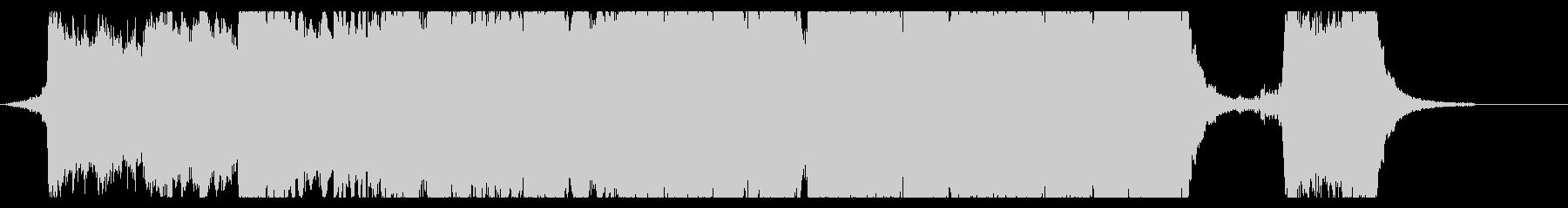 ハリウッド映画風の壮大なオーケストラ5Cの未再生の波形