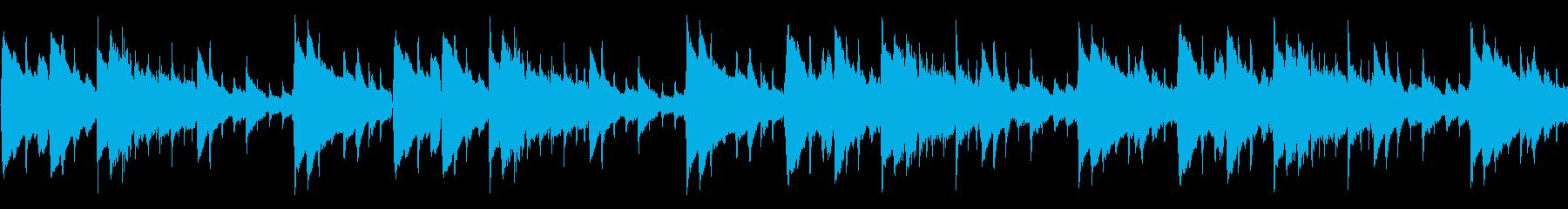 爽やかなアコギBGM② ループ仕様の再生済みの波形