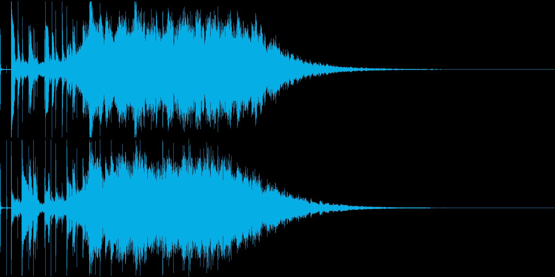 思わず口ずさむポップなラジオジングルの再生済みの波形