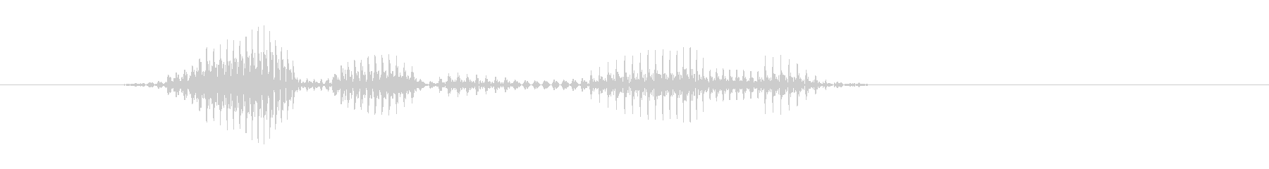 レベル7(なな)の未再生の波形