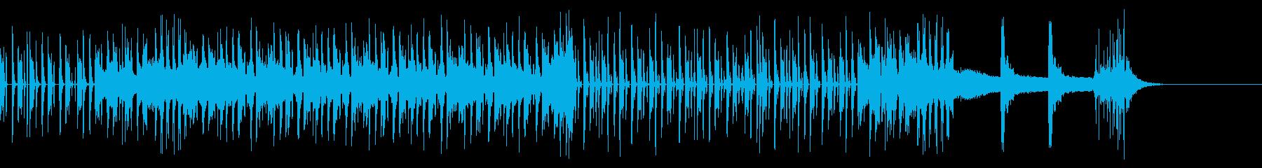 コミカルとシリアスを併せ持つドラムンの再生済みの波形