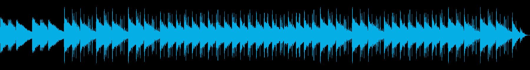 ミニマリスト・おしゃれ系動画のBGMの再生済みの波形