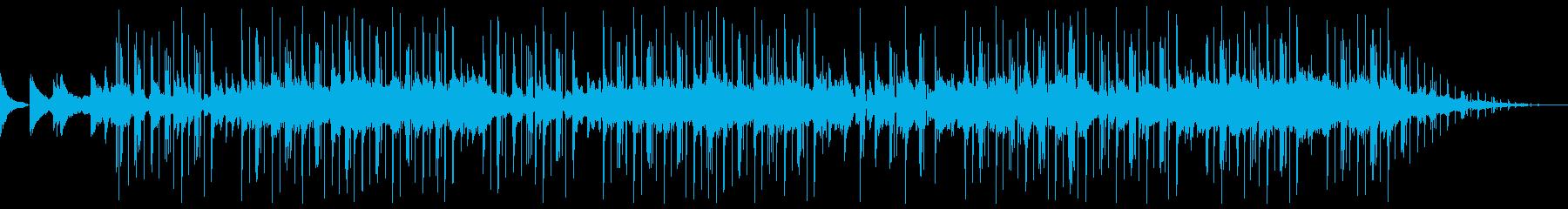 ピアノをメインにしたHiphopの再生済みの波形