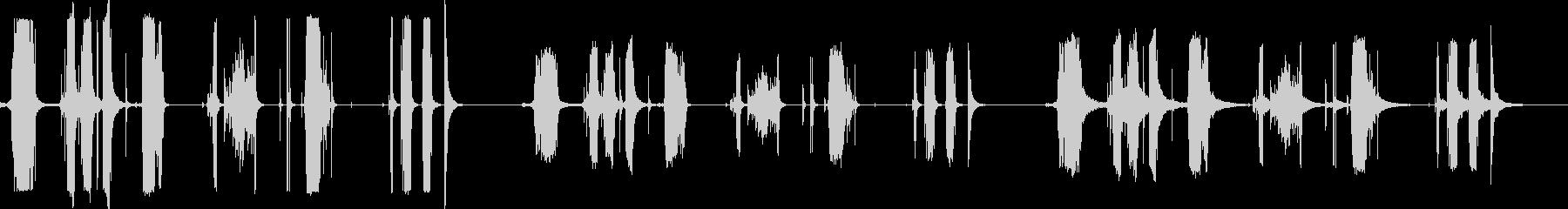 金属ラチェット、7バージョンX 3...の未再生の波形