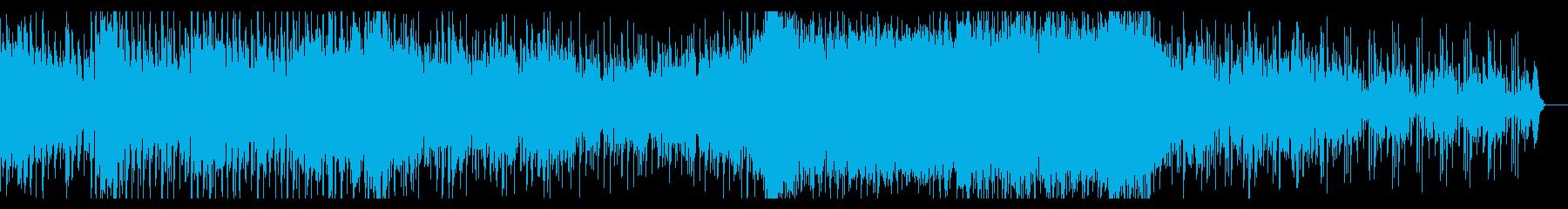 重低音うなるムービートレーラーの再生済みの波形