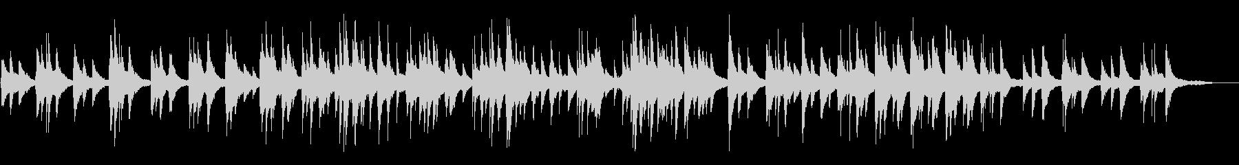 カフェ・ヨガ・睡眠 lo-fiピアノソロの未再生の波形