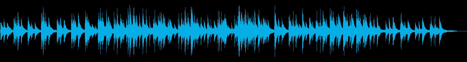 カフェ・ヨガ・睡眠 lo-fiピアノソロの再生済みの波形